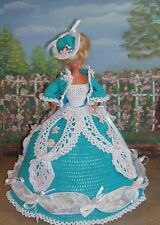 CROCHET FASHION DOLL PATTERN-ICS DESIGNS-277 BELLE OF SOUTH-CAROLINE