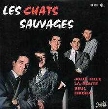 ★☆★ CD Single Les CHATS SAUVAGES Jolie fille - EP 4-track CARD SLEEVE  ★☆★