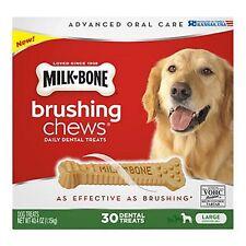 Milk-Bone Brushing Chews Daily Dental Treats Large (30 ct)