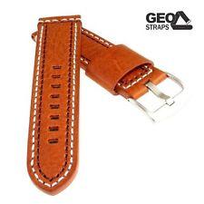 Geo Straps Uhrenarmband - Big Indian braun 24 mm Uhrband, Ersatzband, Uhrenbände
