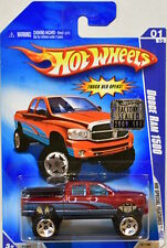 HOT WHEELS 2009 HW SPECIAL FEATURES DODGE RAM 1500 #01/10 RED FACTORY SEALED