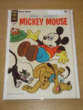 MICKEY MOUSE #117 NM (9.4) PLUTO GOOFY WALT DISNEY GOLD KEY COMICS MAY 1968