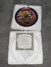 "Disney ""Steamboat Willie"" Mickey & Minnie Collector's Plate No. 1214A w/COA  NIB"