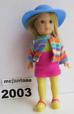 LOOSE McDonald's Happy Meal 2003 Madame Alexander HANNAH PEPPER Single Toy Doll