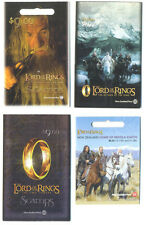 New Zealand-Lord of the Rings Complete booklet collection(4)mnh