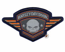 HARLEY DAVIDSON WILLIE G SKULL WINGED BADGE PATCH *NIP* VEST JACKET BIKER PATCH