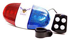 Fahrrad Sirene Blaulicht Polizeilicht Fahrradlicht Warnlicht LED Fahrradlampe