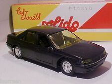 Peugeot 605 1998 Solido 1/43 Diecast Mint in Numbered Box