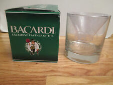 "2009 BOSTON CELTICS BACARDI 3.5"" Etched Glass SEALED in BOX"