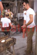 Kanawha Glass Blower Factory Worker Dunbar West Virginia 1974 Kodak 35mm Slide 7