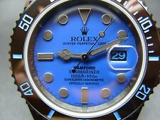 Rolex Submariner Bamford Edition Watch, Black and Blue Dial, Black PVD Case!