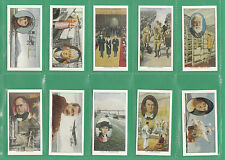 PROMINENT PEOPLE - SET OF 50 CHURCHMAN ' PIONEERS ' CARDS - REPRINTS