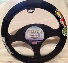 ANGRY BIRDS Applique Design Steering Wheel Cover - NEW!  Great Gift Item!