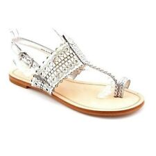 NEW BCBG Silver AERIAL Sandal Shoes 8.5 $149