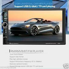 7'' HD Bluetooth Touch Screen Car GPS Stereo Radio 2 DIN FM/MP5/MP3/USB/AUX