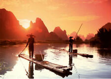Ravensburger Fishermen In The Sunset 1000pc Jigsaw Puzzle