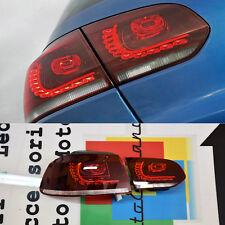 VW GOLF 6 MK6 2008-2012 FARI POSTERIORI A LED MODELLO ROSSO CILIEGIA