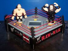 WWF Raw is War In The Ring Video Game Steve Austin vs The Undertaker WWE [2188]