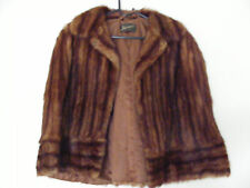 Harrods Vintage Mink Fur Evening Cape SIMPLY STUNNING!