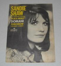 Spartito SANDIE SHAW Domani Tomorrow 1966 Songbook Scala reale Spartiti