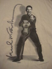Paul McCartney from The Beatles Solo Project Classic Rock Music Tour T Shirt L