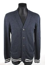 ABERCROMBIE & FITCH Full Buttons Muscle Men Cardigan Sweater Size L