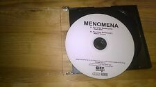 CD Indie Menomena - Five Little Rooms (2 Song) Promo CITY SLANG disc only