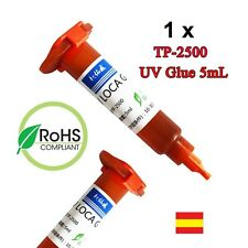 Pegamento adhesivo Pantallas samsung iphone Glue Rayos UV Cola LOCA 5ml TP-2500