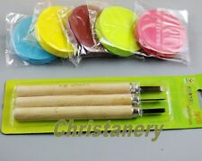 5 Rubber Carving Blocks and 3 Carving Knife Kit DIY Your Own Rubber Stamps