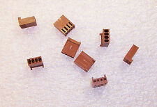 QTY (10) 22-01-3047 MOLEX 4 POSITION CRIMP HOUSING  2.54mm PITCH FREE SHIPPING