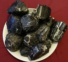 Black Tourmaline Natural rough crystal HEALTH POWER ENERGY