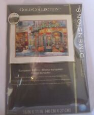 Dimensions The Gold Collection European Bistro Counted Cross Stitch # 35224
