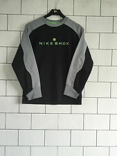 URBAN VINTAGE RETRO BLACK NIKE OVERSIZED SWEATSHIRT SWEATER JUMPER UK 6-10