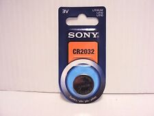 Sony CR2032 3V Lithium Button/Coin/Cell Battery 1-pk 2021 Genuine NIP