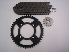 HONDA XR80R NEW SPROCKET & CHAIN SET 14/46  85 - 03 STOCK GEAR RATIO