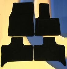 BMW E53 X5 to 2006 QUALITY TAILORED BLACK CAR FLOOR MATS WITH + 4 x PADS