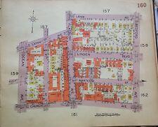ORIG 1929 BELCHER HYDE FLATBUSH ERASMUS HALL HIGH SCHOOL BROOKLYN  NY ATLAS MAP