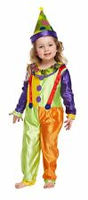 Toddler Girls Clown Fancy Dress Up Party Costume Age 3 World Book Day NEW