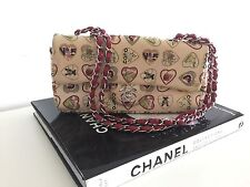 Chanel 06P Classic Valentines Hearts Flap Bag 100% Authentic
