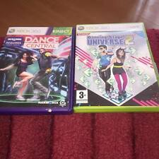 DANCE Central and Dancing Stage universe 2 XBOX 360 Gioco