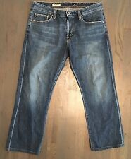 MENS AG ADRIANO GOLDSCHMIED JEANS PROTEGE STRAIGHT LEG JEANS 34 x 32 BLUE