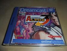 Dreamcast-streetfighter Alpha 3
