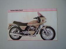 - RITAGLIO DI GIORNALE ANNO 1982 - MOTO GUZZI V65 V 65 SP
