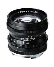 Voigtländer nokton 1.5 50mm Black Leica m ASPH. Voigtländer-comerciante una pieza única