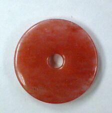 57mm Beautiful Cherry Quartz Donut Pendant ( 2.25 Inches)