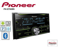 Pioneer Double Din CD Player Radio Bluetooth Pandora Iphone AUX USB FH-X730BS