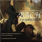J.C.F. BACH: 3 SYMPHONIES NEW & SEALED