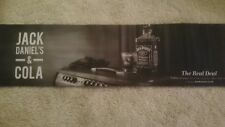 Jack daniels & cola bar runner/drip mat new & unused home bar/pub/mancave
