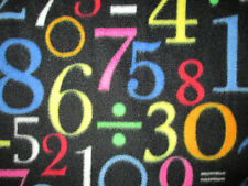 NUMBERS MATH SCHOOL DIVISION NUMBER 1 2 3 4 FLEECE FABRIC OOP