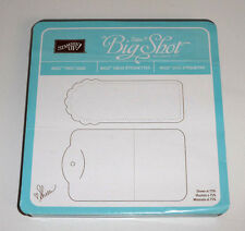 Stampin' Up TWO TAGS Bigz Die ~ Sizzix Big Shot & More ~ Versatile Uses!